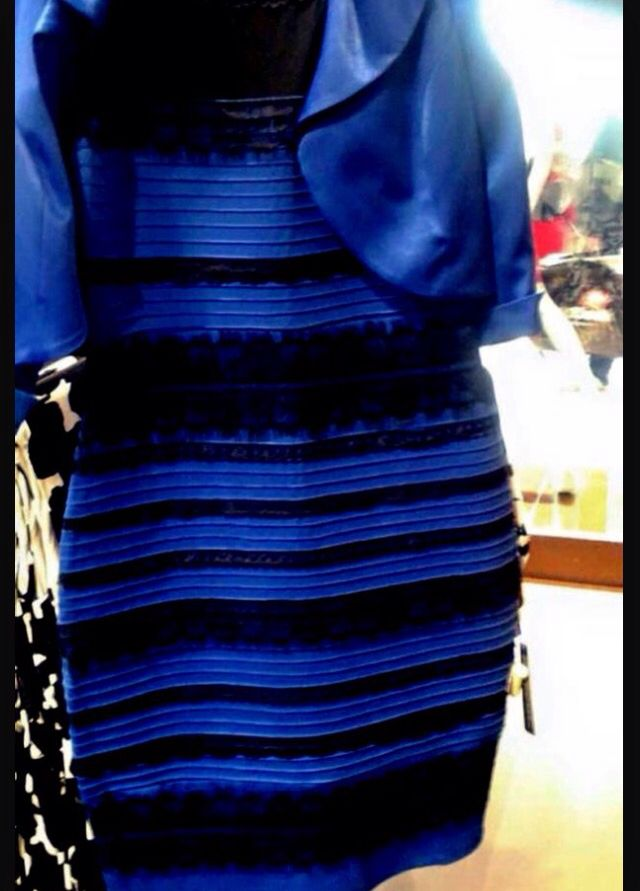 What Color Is The Dress Blue And Black Or White And Gold Fashion