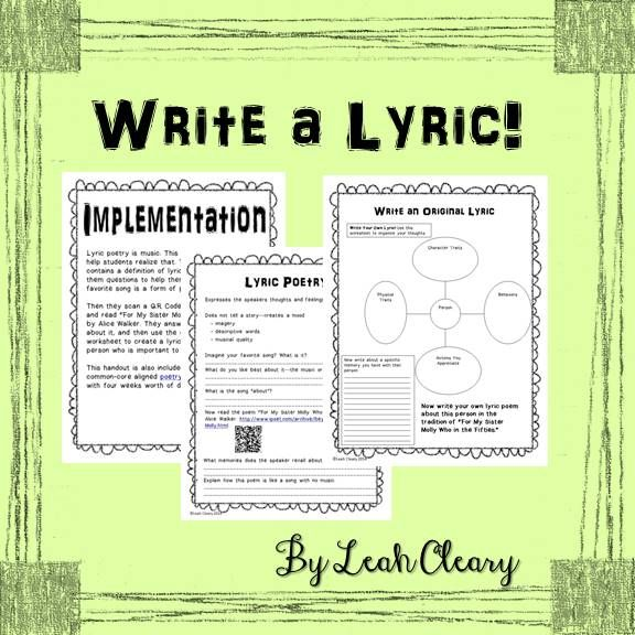 How To Write A Lyric Poems 7