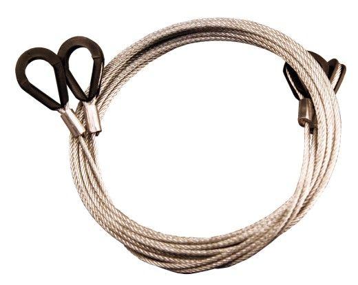 Custom Wire Rope Assemblies : Bespoke steel wire rope assemblies