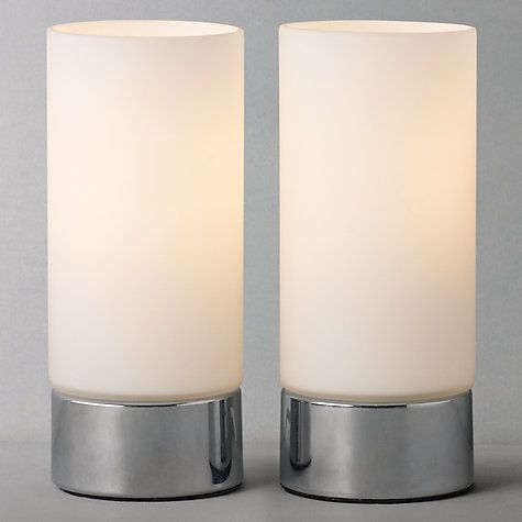 Buy John Lewis Marc Table Lamp Duo Online At Johnlewis Com Touch Lamp Touch Lamps Bedside Touch Table Lamps