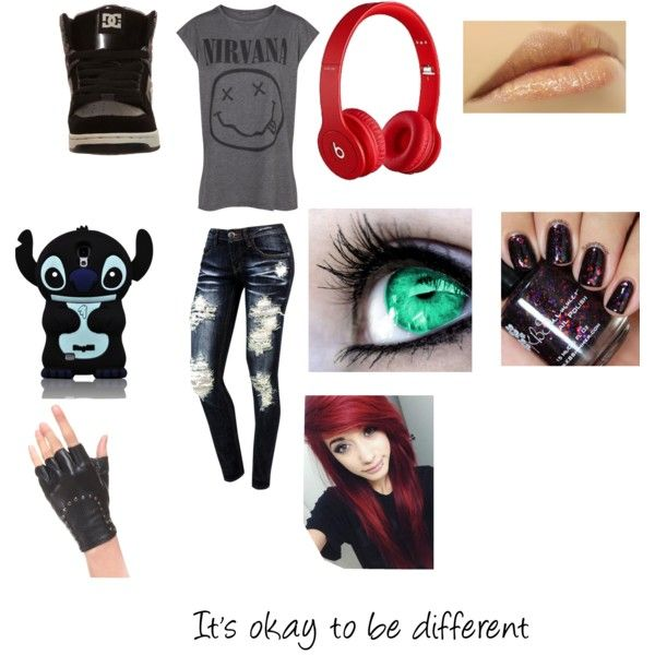 I'm different, deal with it, created by zfelies on Polyvore