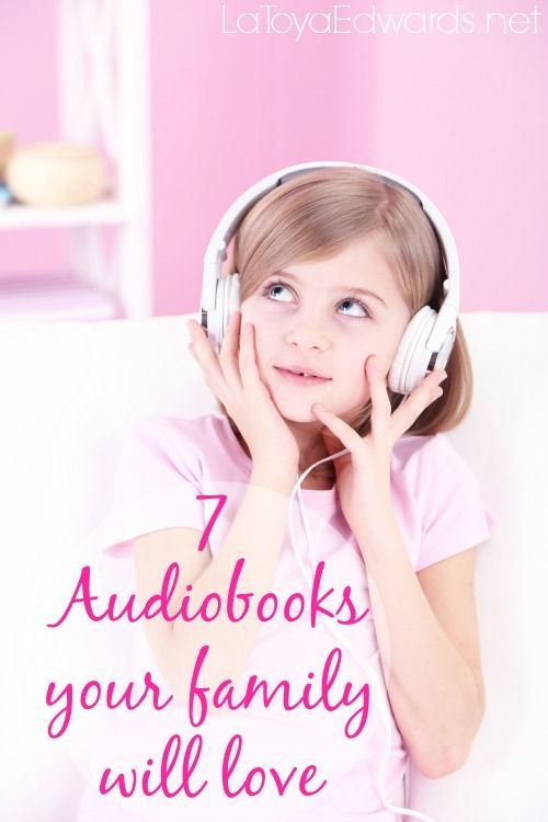 Audio books are only for children? We love audio books. I'm sharing 7 our a favorite audio books for kids of all ages! Did your family favorite make the list?
