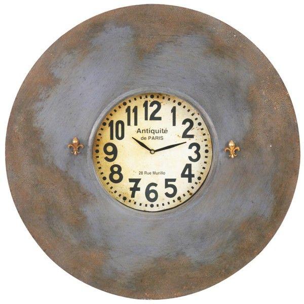 Zentique Paris White Face Magnetic Wall Clock Paris Wall Clock Small Wall Clock Wall Clock