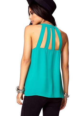 Luxe Cage Top | FOREVER 21 - 2057885077