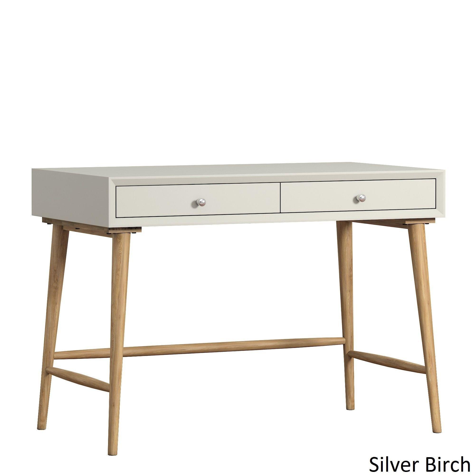 Marin Danish Modern 2-drawer Writing Desk by iNSPIRE Q MODERN by INSPIRE Q