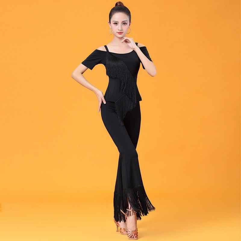 Latin salsa tango rumba Cha cha Square Ballroom Dance Dress#GG236 Skirt 4 Colors