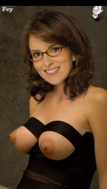 tina fey nude Glasses