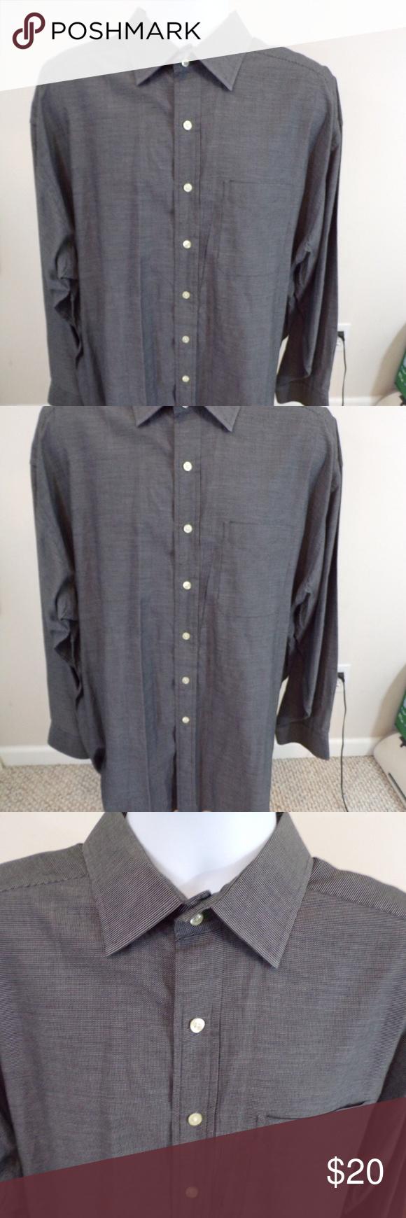 Tommy Hilfiger Mens Dress Shirt Sz 18 3435 In 2018 My Posh Closet
