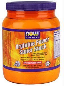 NOW- Arginine Stack 2.2 lb