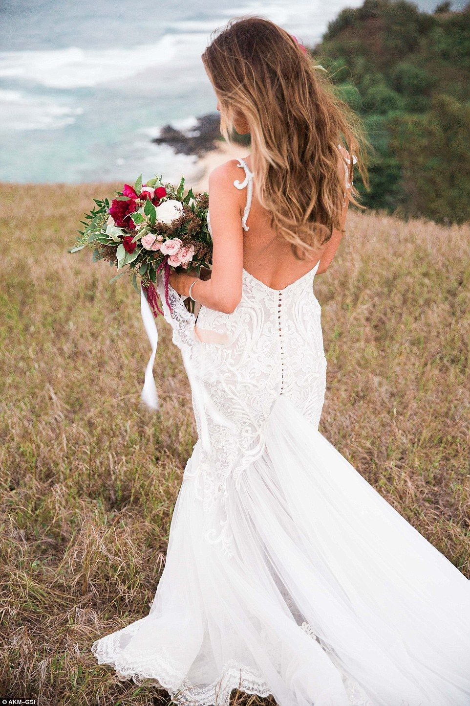 Audrina Patridge weds Corey Bohan in Hawaii | Pallas couture ...