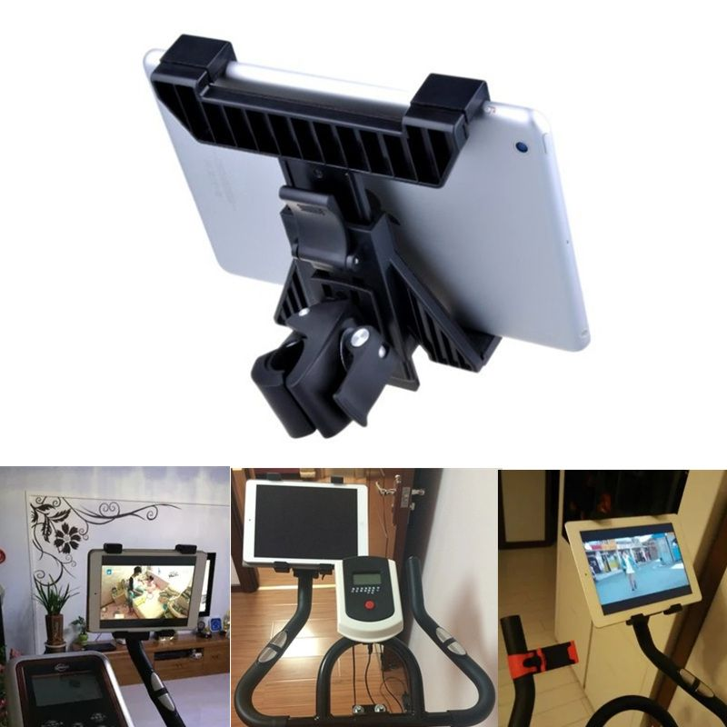 Treadmill Tablet Stand Bike Motorcycle Car Holder Hands Free Dynamic Cycling Tablets Pc Bracket For Ipad 7 10 Inch Review Car Holder Tablet Stand Ipad Holder