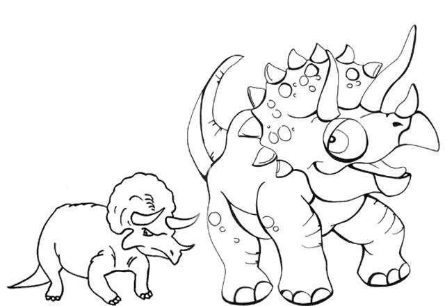 Little Styracosaurus Dinosaur Coloring Pages Uncategorized