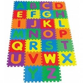 kids alphabet floor puzzle mat 3897 this alphabet floor mat is a 26 foam letters floor