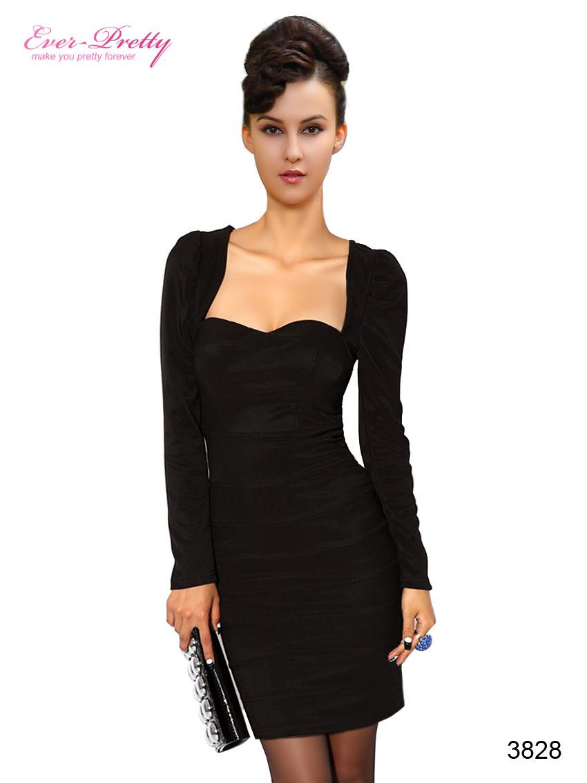 It's Sexy Saturday! Need a slinky, sexy outfit for your saturday night out? Try this super flattering LBD! Check out this dress and many others on our official website and shop now here!: us.ever-pretty.com