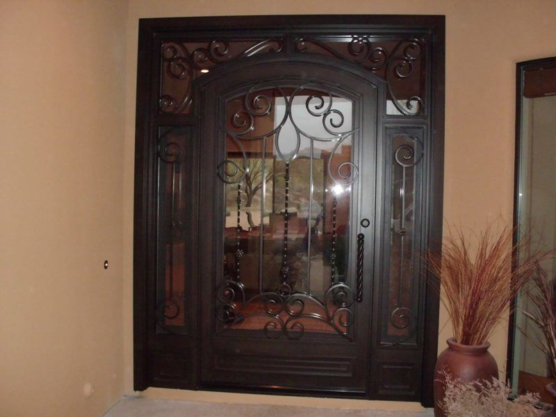 Grand entry iron doors/ Landmark Iron Phoenix : phoenix door - pezcame.com