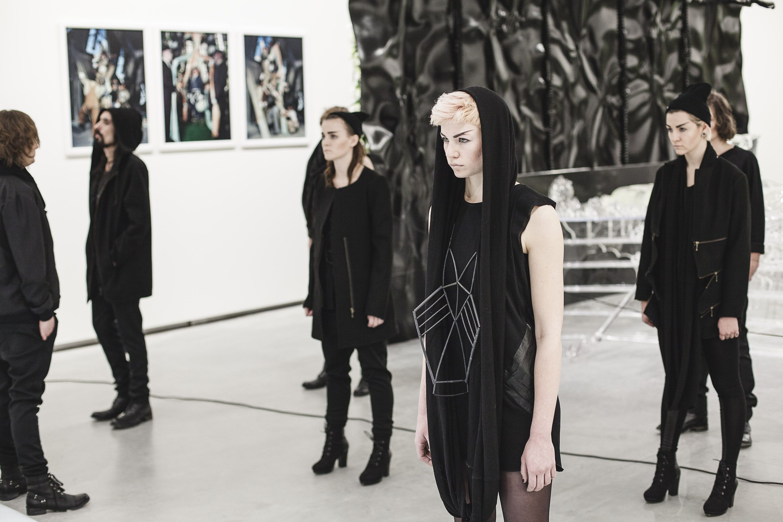 black rat clothing oslofashionweek exhibition fashion wool ...