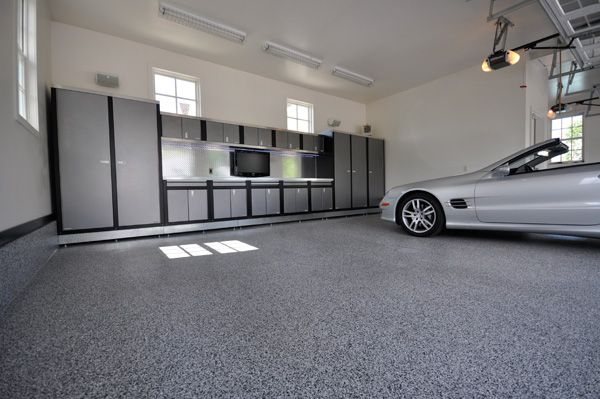 Custom Garage Designs Garage Flooring Garageguyz Jpg 600 399