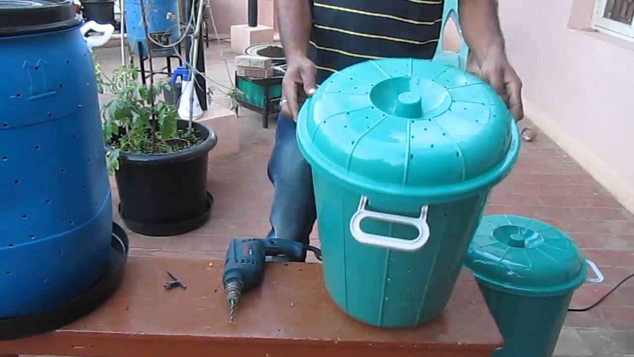 How to make a DIY Aerobic Composting Bin by Vinod Kumar Shudh Labh ...