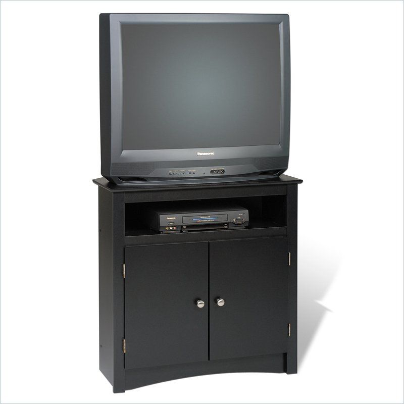 32 Tall Corner Tv Stand In Black Jackie Pinterest Corner Tv