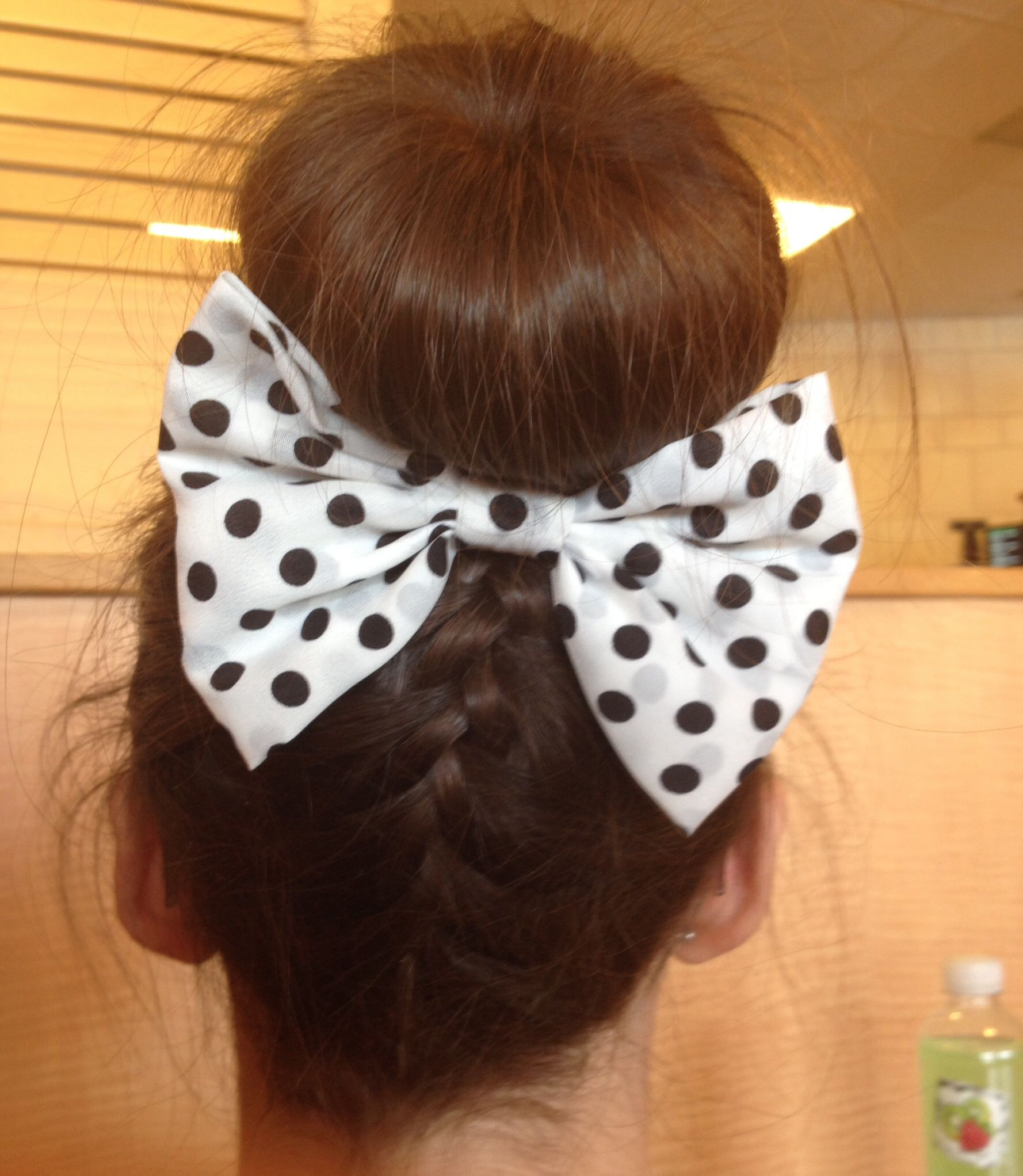Cute hairstyle bows pinterest