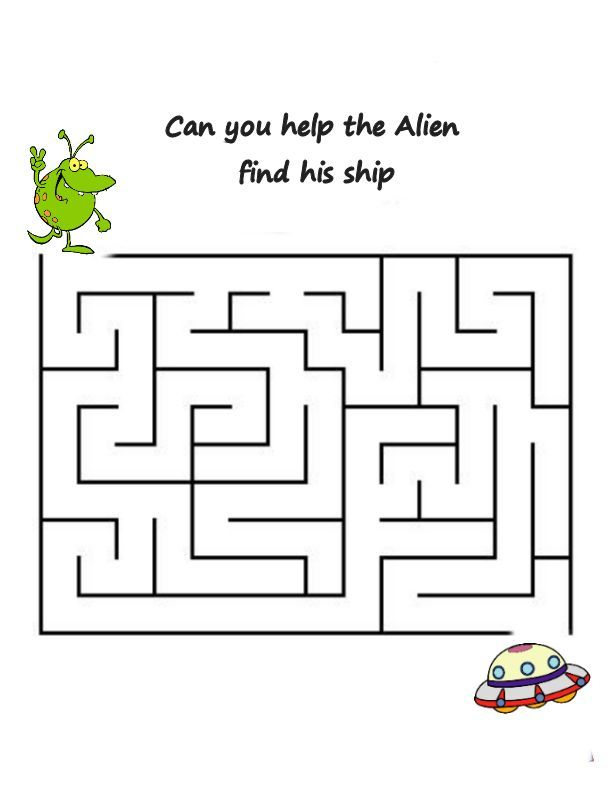 Pin by Crafty Annabelle on Alien/Space Printables   Pre k ...