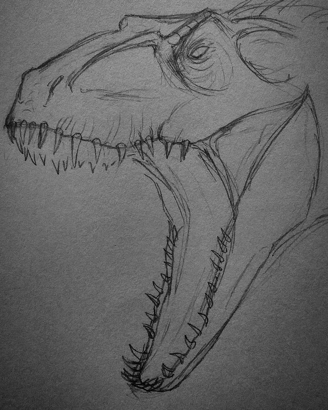 поэтому динозавр рисунки карандашом этом случае помощь