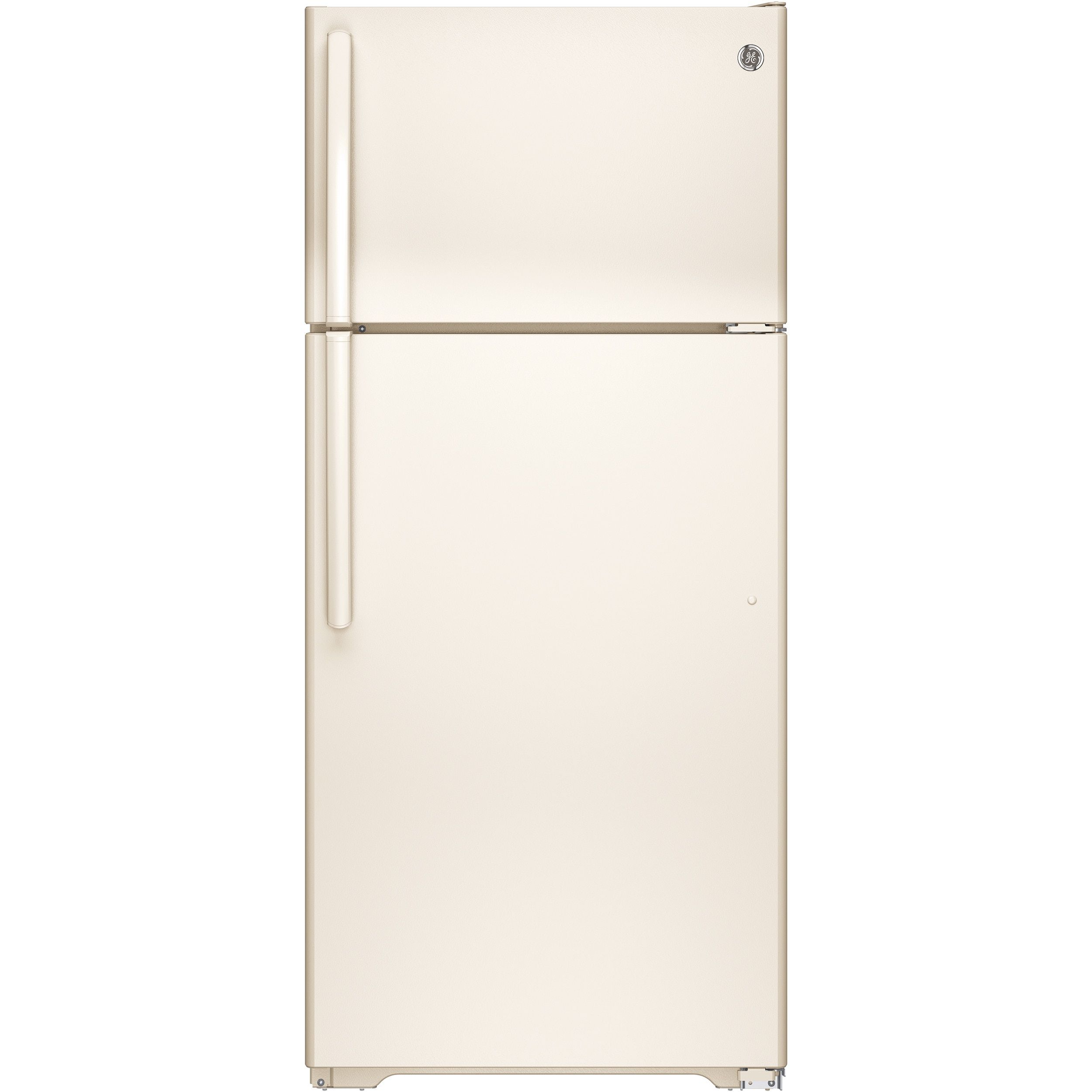 GE Energy Star 15 5 Cubic foot Bisque Top Freezer Refrigerator