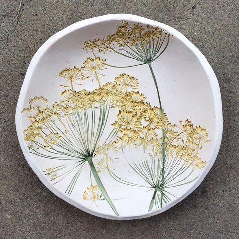 "Becca Jane Koehler's Instagram post: ""Dill Flower #wip"""