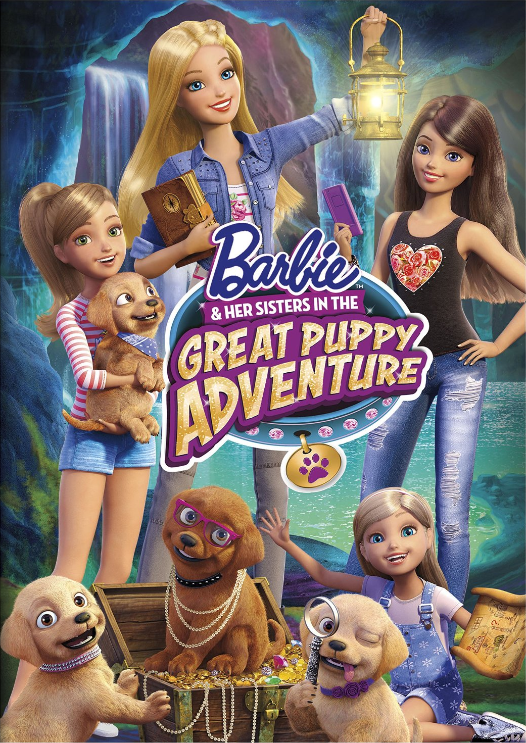 Latest 1041 1471 Barbie And Her Sisters Puppies Barbie Movies