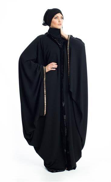 Sihem Wore A Plain N Simple Design And Looking Nice And Abaya S Sleeves Make It Different Abayas Fashion Niqab Fashion Abaya Fashion