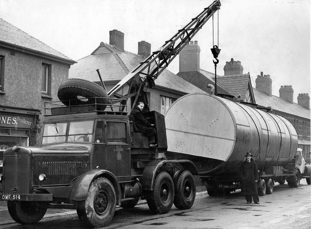Edward Beck Son Ltd Coles Thornycroft Amazon Mobile Crane Old Lorries Heavy Truck Truck Transport