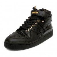 online retailer f8de3 ac445 ... switzerland black hi top sneaker adidas forum mid lux black gold 8a4e2  3efab