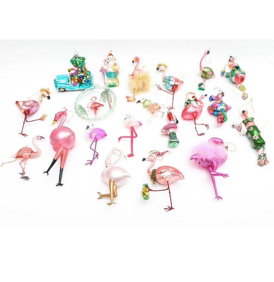 Flamingo Christmas Tree Decorations Uk Collection of