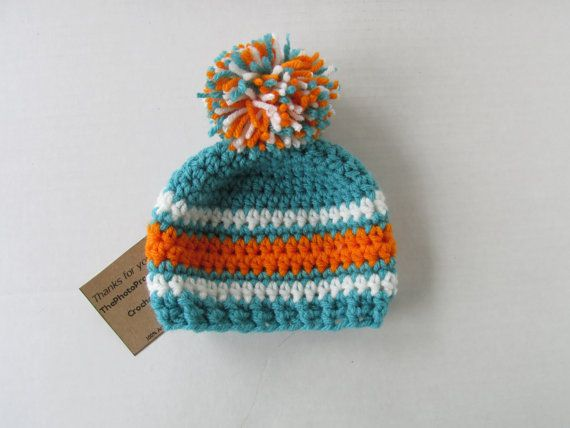 9230bc602 ... knit hat czech hat in miami colorsmicro preemie up to adult sizes with  or without pom pom aqua new zealand womens new era aqua miami dolphins ...