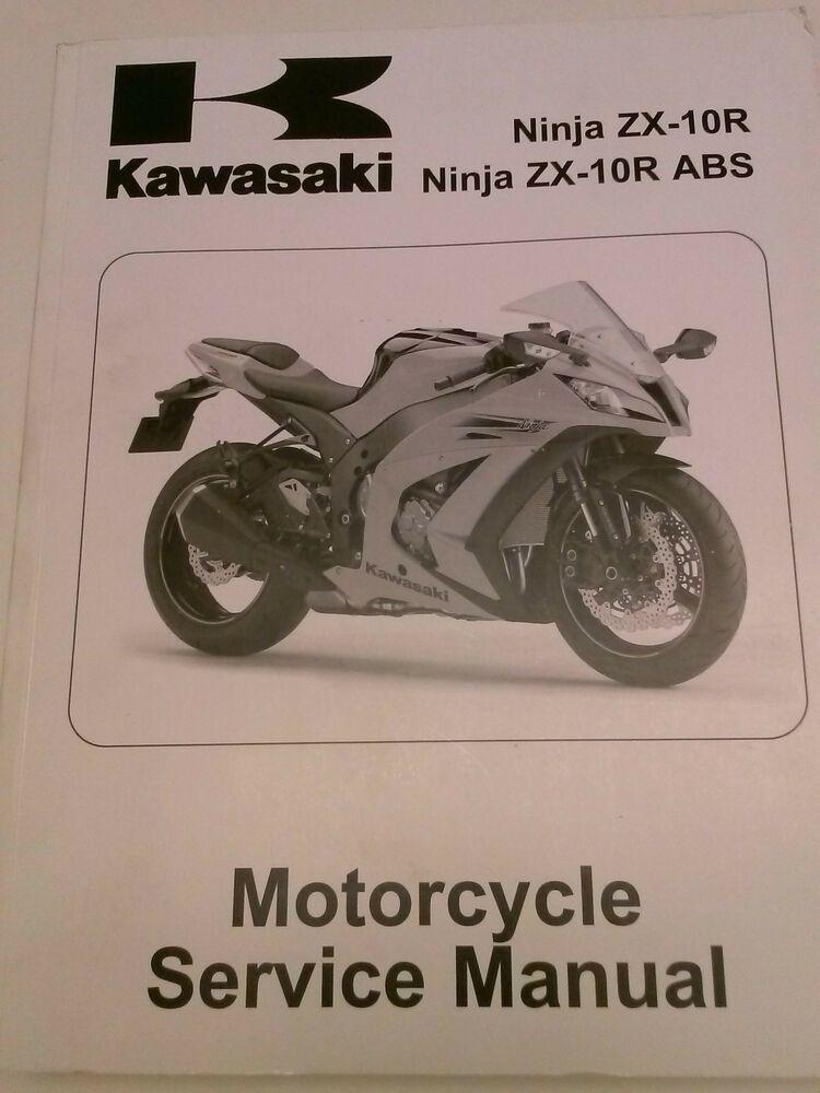 Advertisement Ebay  Kawasaki Service Manual 2011 Ninja Zx