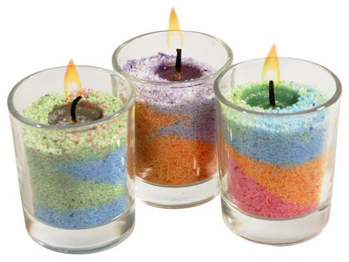 With Coloured Sand Wax Anyone Can Create Amazing Candle Designs Just Look At All