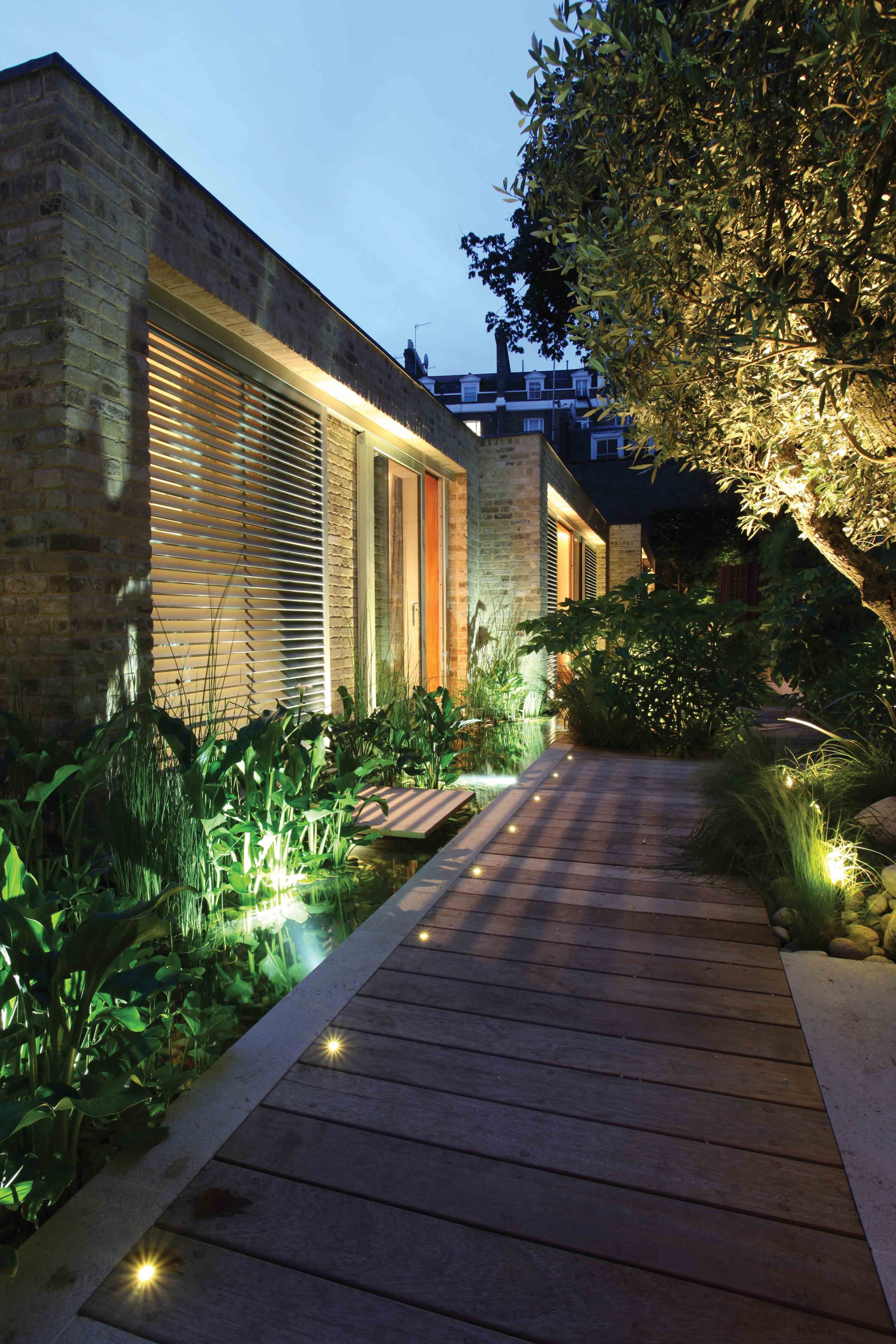 10 Garden Lighting Design Ideas Most Of The Amazing And Beautiful In 2020 Modern Backyard Landscaping Garden Lighting Design Backyard Lighting