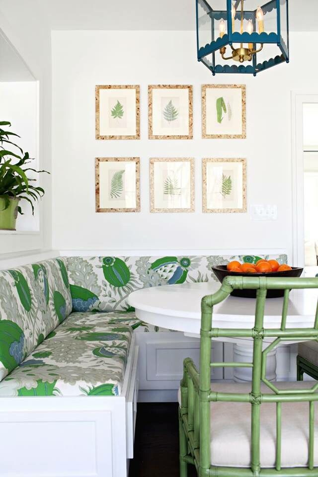 Charming Folly: Interior Design Services U0026 Showroom In Charlottesville, VA  #banquette #kitchenseating