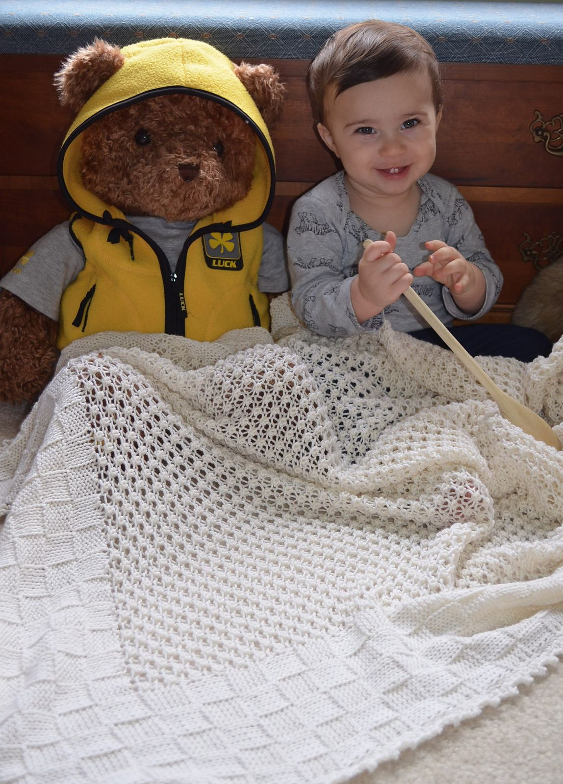 Berries-In-A-Basket Blanket By Anjela Govan - Free Knitted Pattern ...