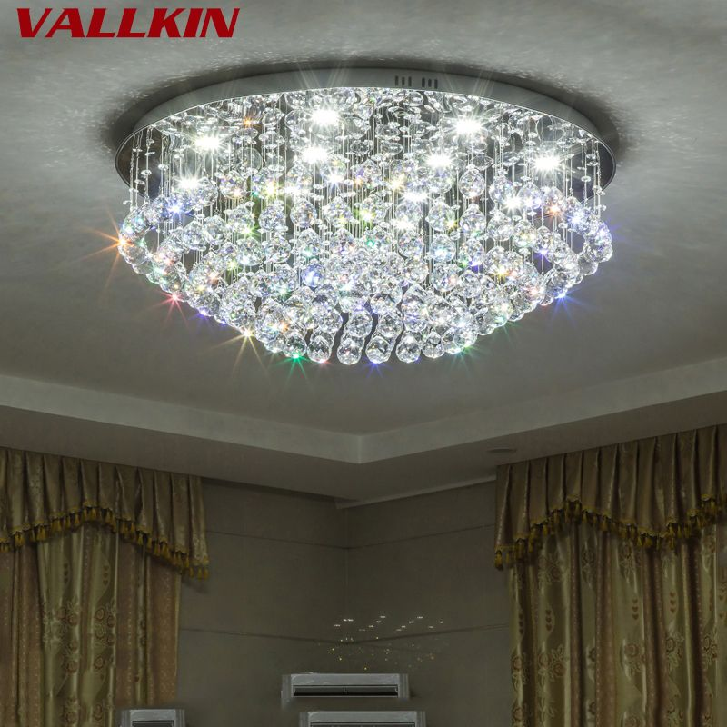 Find More Ceiling Lights Information About Simple Crystal Modern