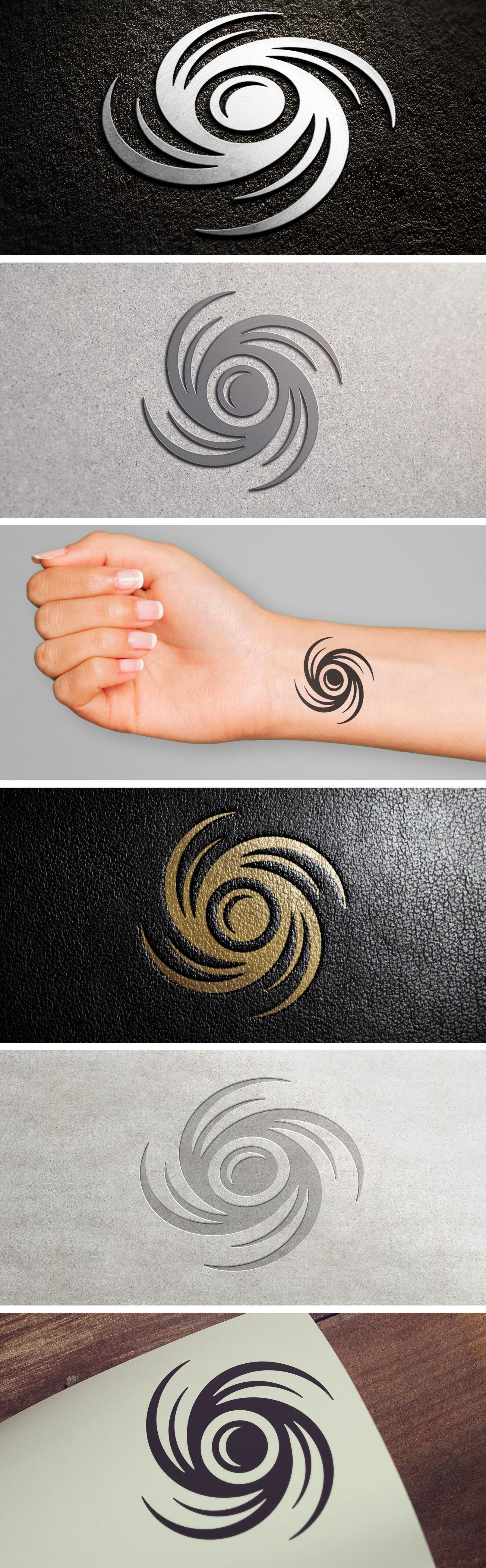 Eye Of The Storm Schteff Creative Design Logo Logodesign