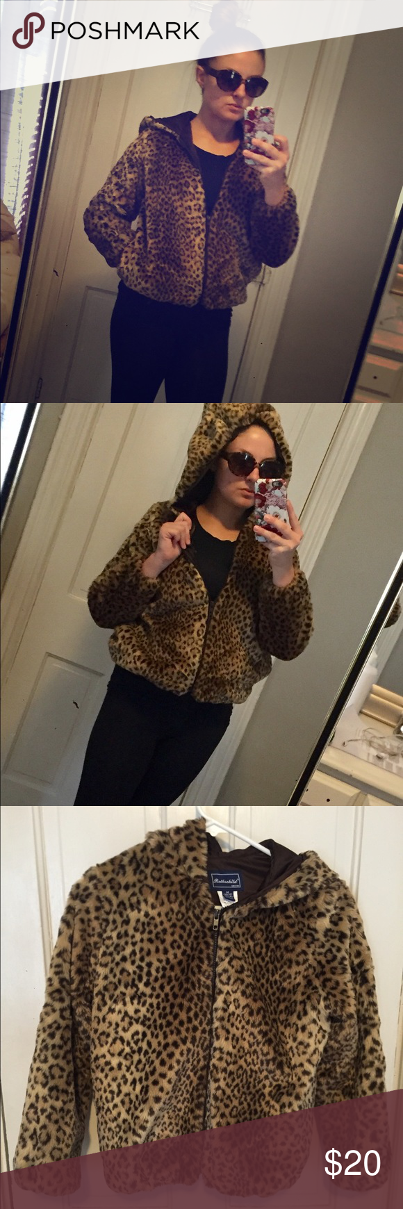 Luxurious Faux Cheetah Fur Jacket Super comfy & warm! Add this piece to your wardrobe for a steal! Bundle & Save or MAKE AN OFFER!! 😊 Jackets & Coats