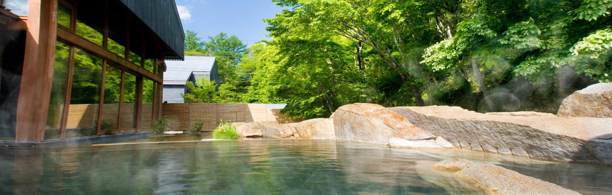 Hoshino-onsen hot spring - Japan National Tourism Organization