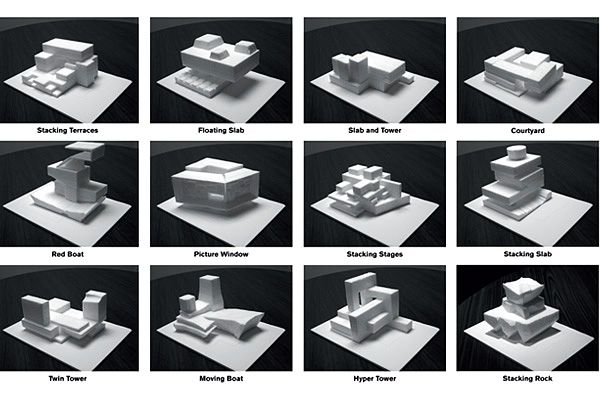 Massing Study in Revit Architecture 2010 (July 7, 2009 ...