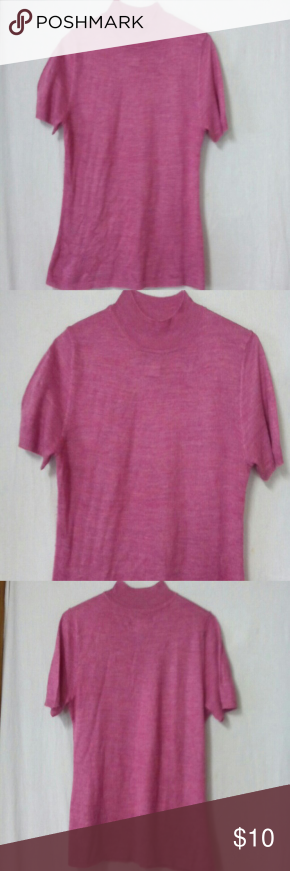 Sag harbor women size small sweater | Sag harbor, Mock neck and ...