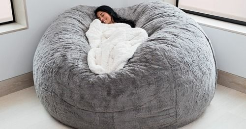 Marvelous Win A Lovesac Chinchilla Phur Bigone Bean Bag Chair And Caraccident5 Cool Chair Designs And Ideas Caraccident5Info