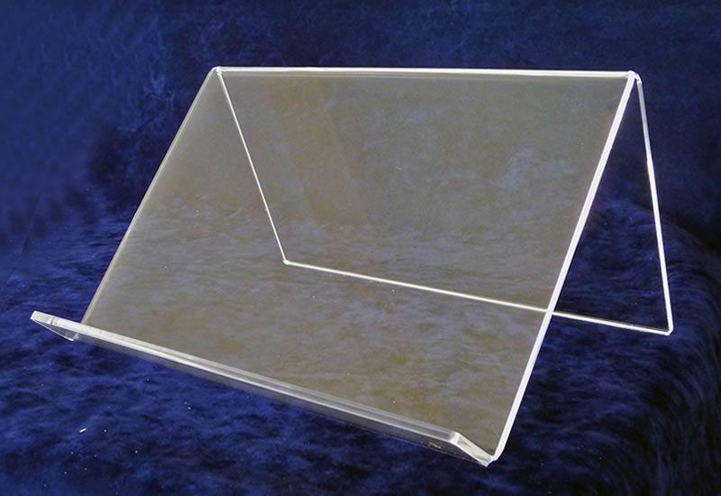 leggio in plexiglass trasparente