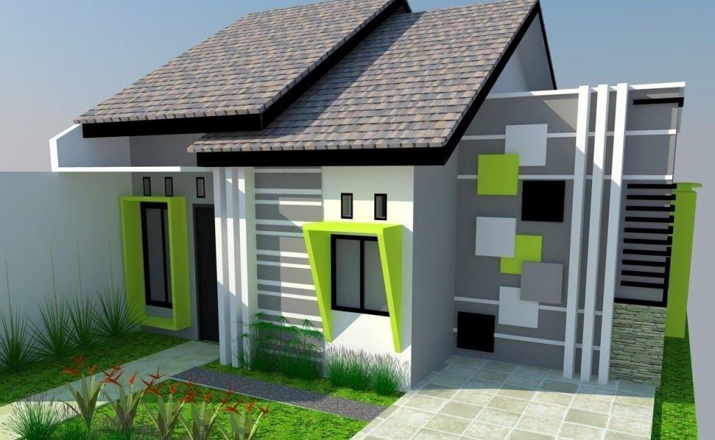 Permalink to Top 15+ Menarik Desain Rumah Minimalis Warna Hijau
