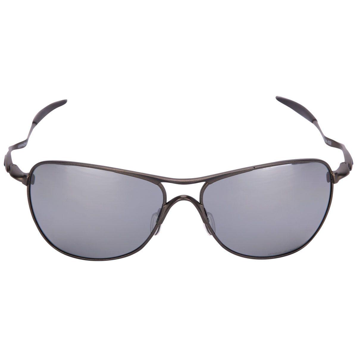 Óculos Oakley Titanium Crosshair Iridium Polarizado Preto   Netshoes ... 9ab0162ddd