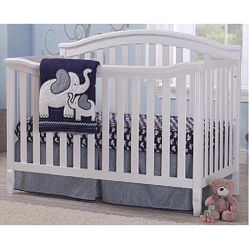 Sorelle Berkley 4-in-1 Convertible Crib - White - Sorelle - Babies ...